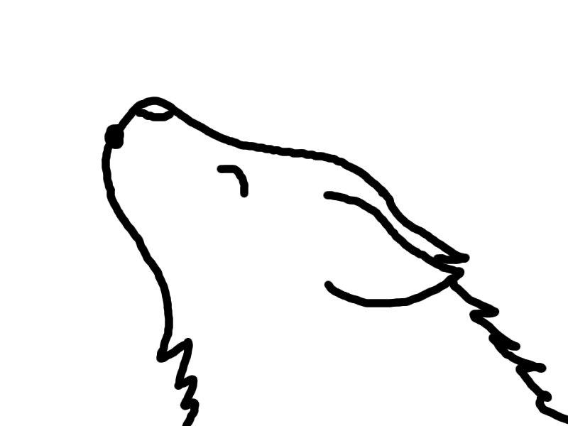 Cute Simple Wolf Drawings Best Cars 2018