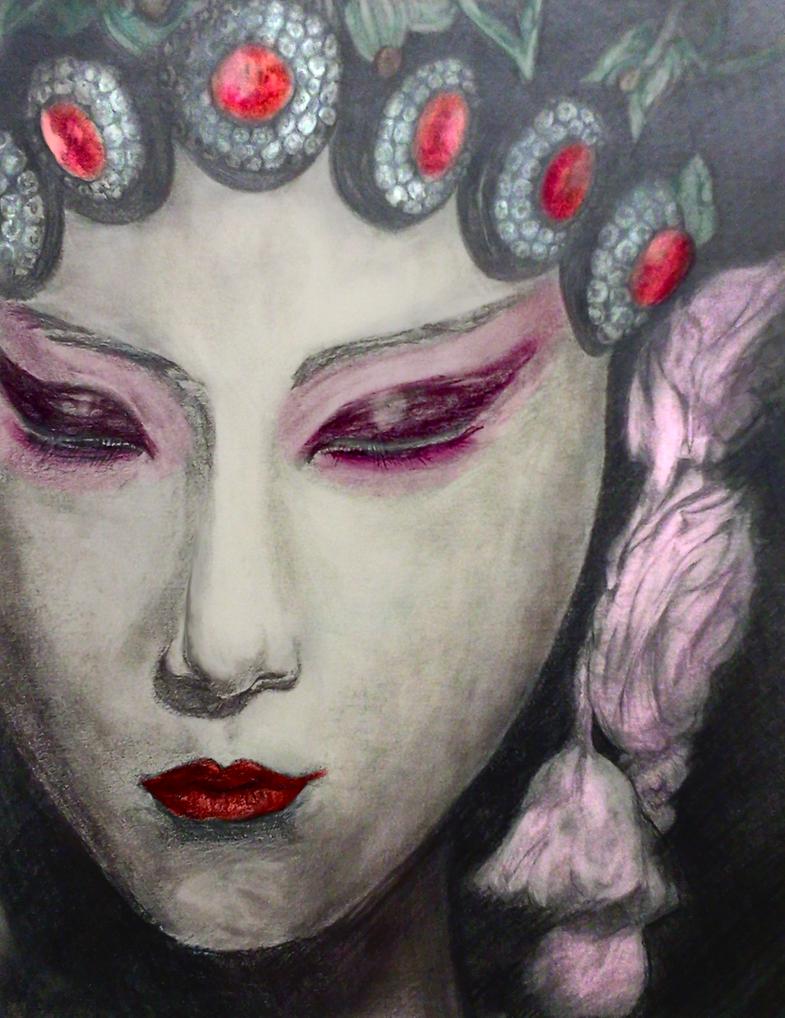 Hua Dan (Color) by o0Aquamentus0o
