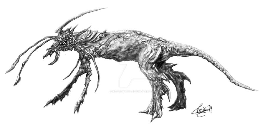 Creature by o0Aquamentus0o