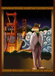 Golden Gate Dingo by MikeFolf