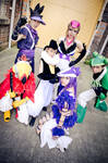 Katanagatari - Maniwa Ninjas by dewmelen