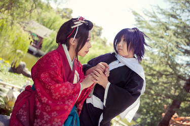 Saito X Chizuru: Steal my Heart Away by dewmelen