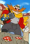 Dr. Robotnik - Sonic Crossroads by Uranus15