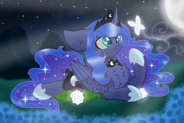 Princess Luna (Fan Art) by Butterfly1624