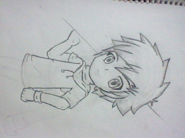 Dibujando Anime By Darkholeblack On DeviantArt