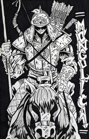 Mongol Warrior by Tdvtitan