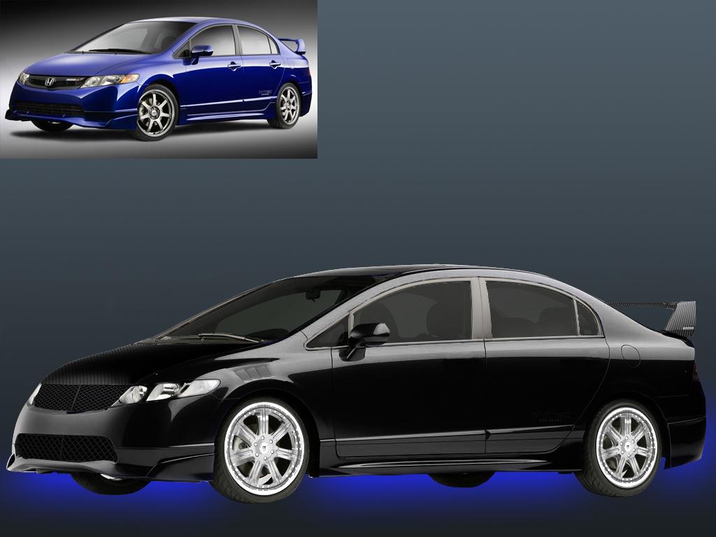 2008 Honda Civic MUGEN SI Chop by prexium01