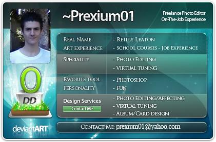 prexium01's Profile Picture