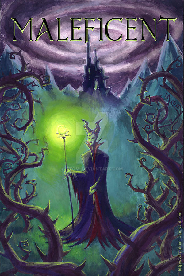 maleficent movie poster by vtomi on deviantart