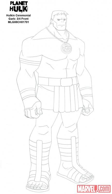 Planet Hulk- Emperor Hulk