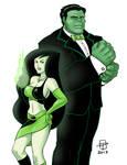 The Spy Who Smashed Me- Hulk and Shego- CallMePo