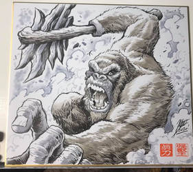 GvK: Kong with his Ax