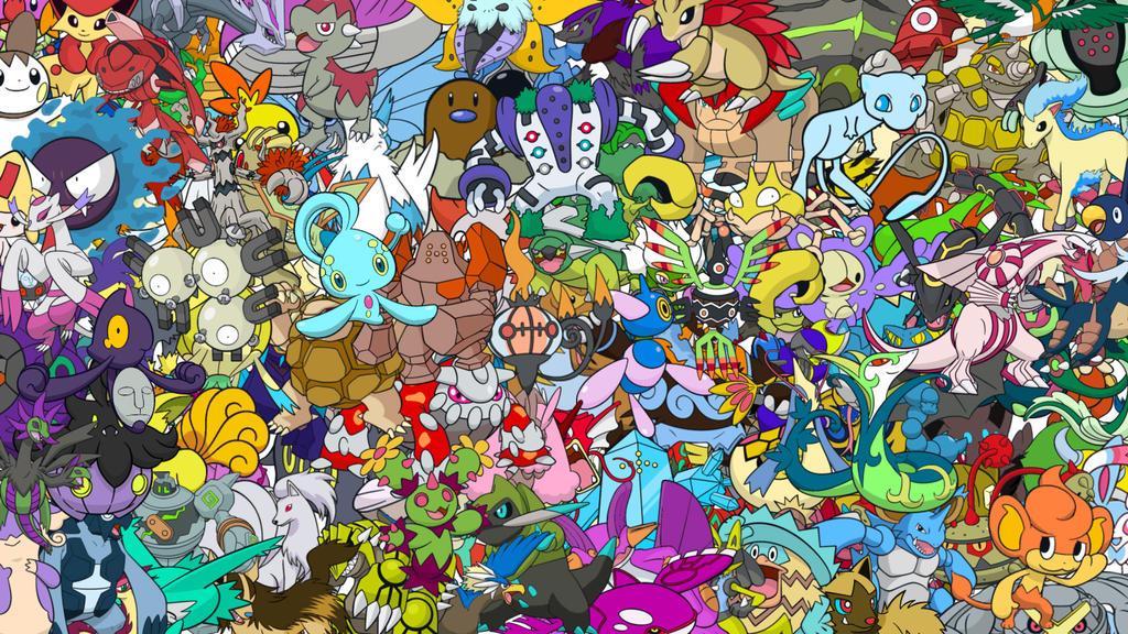 Shiny Pokemon Wallpaper by SupernovaSH on DeviantArt