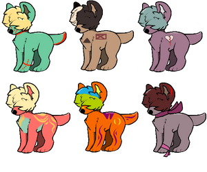 1 Point Adopts! 3/6 (Open) by SpiritOfTheMoon1