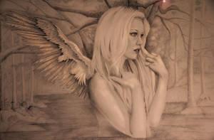Angel by Titanyafaery