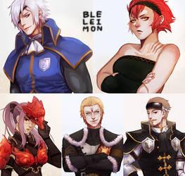 Commission 131-136 by BleleimoN