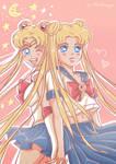 I'm Sailor Moon!
