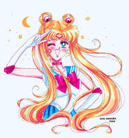 Sailor Moon - MANGA by Alex-Asakura