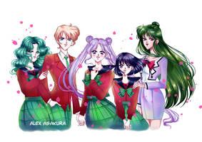 Sailor Nemesis - Neco by Alex-Asakura