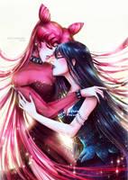Dark lady and Mistress 9 by Alex-Asakura
