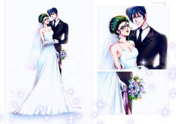 Petz and Sapphire -  Wedding by Alex-Asakura