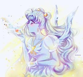 Sailor Moon - Christmas angel by Alex-Asakura