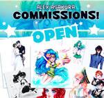 Commission OPEN - Alex Asakura