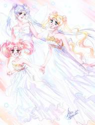 Moon princesses - Serenity by Alex-Asakura
