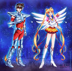 Saint Seiya and Eternal Sailor Moon