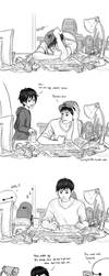 Stressing Tadashi by WendyTanSW