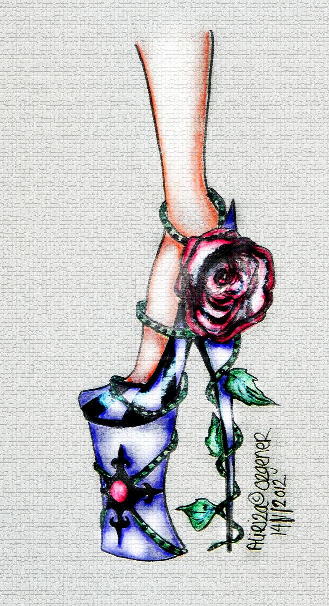 Poison Heel by AlirizaDesign