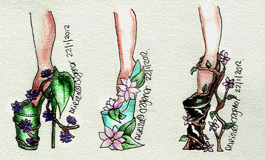 Plant heels by AlirizaDesign
