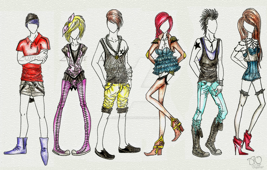 High Street Fashion By Alirizadesign On Deviantart