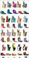 50 Shoe Designs