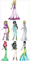 Disney Princess Fashion