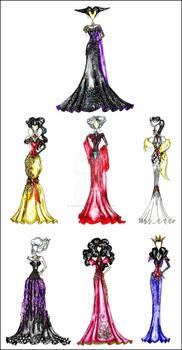 Disney Villain Fashion