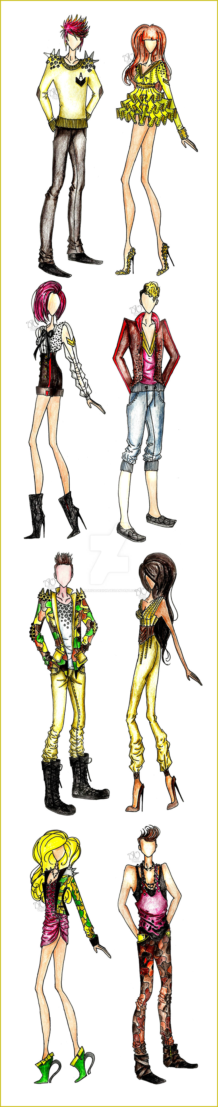 High Street Fashion By Alirizadesign On Deviantart