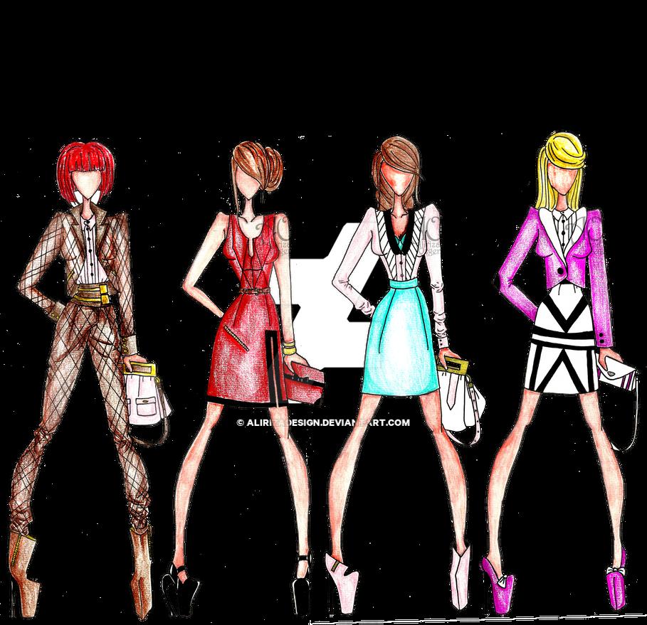Office Wear by AlirizaDesign