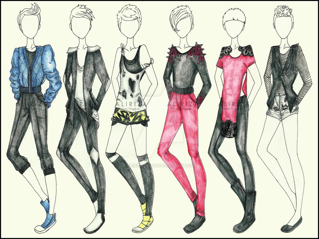 Fashion Collection by AlirizaDesign