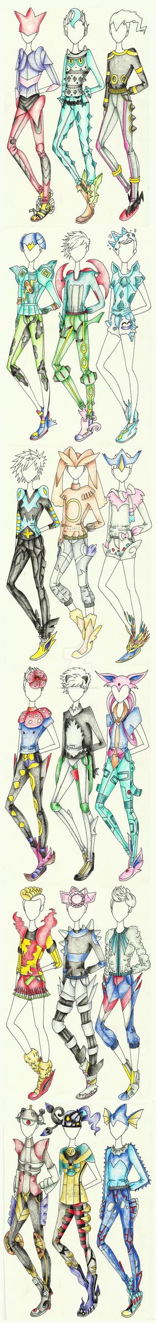 Pokemon Men Couture by AlirizaDesign