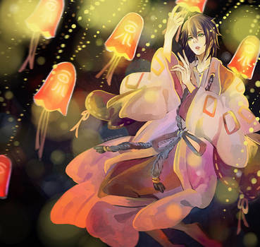 Shinsekai Yori: Physalis by sakonma