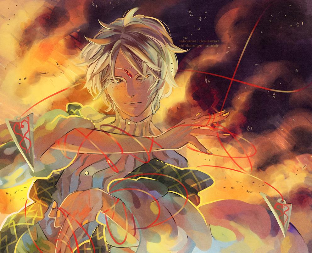 Magi: Ignis by sakonma