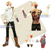 CM: Character Ref by sakonma