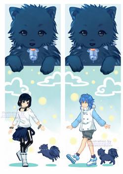 DRAMAtical Murder: Sei Aoba Bookmarks