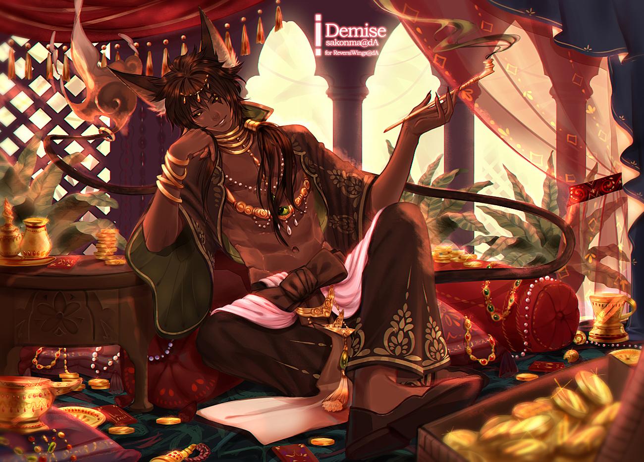 A god's gamble by sakonma on DeviantArt