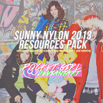 SNSD Sunny for Nylon - RESOURCE PACK