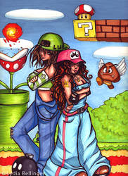 Super Mario Sisters by lavi