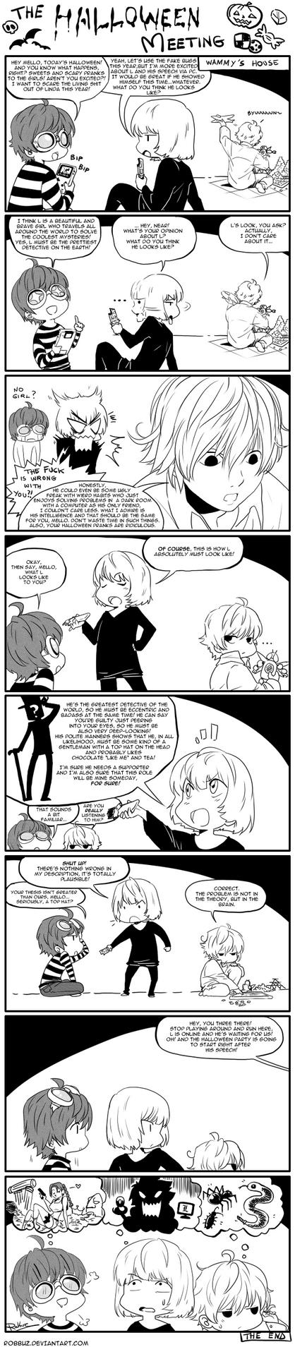 DN: Halloween Meeting by Robbuz