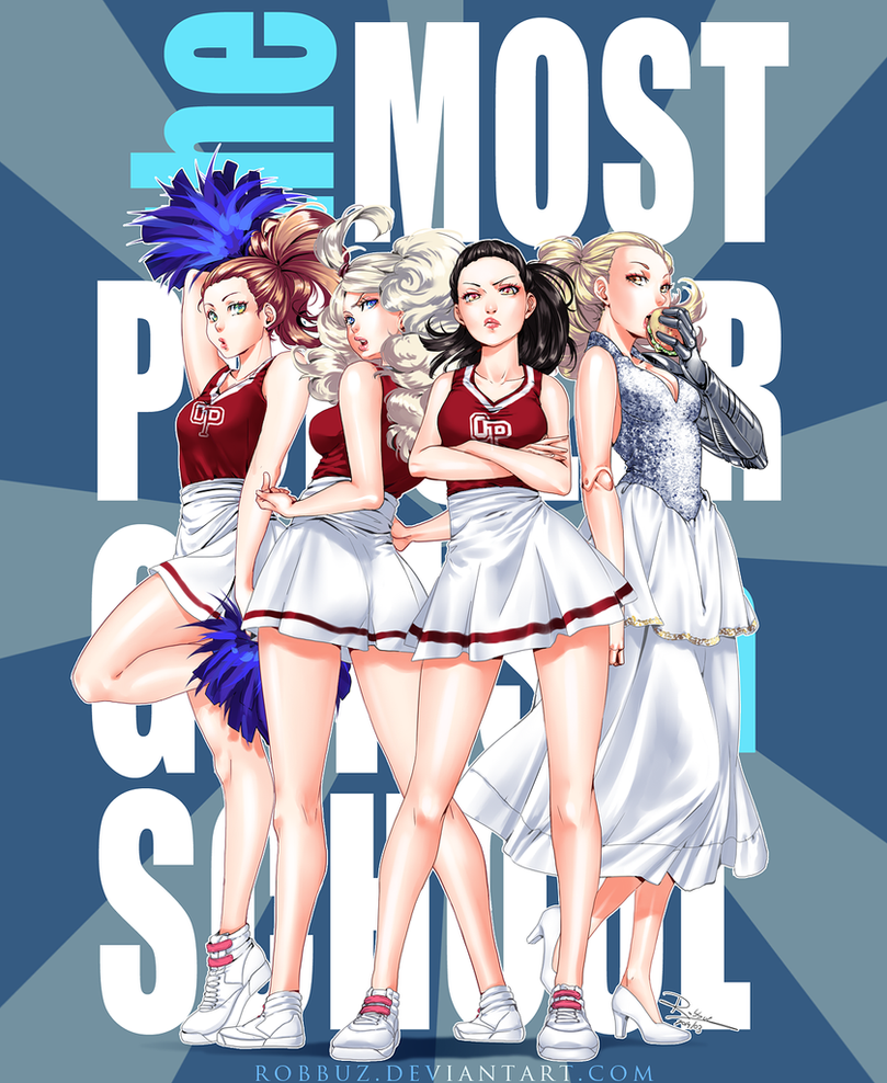 The Most Popular Girls In School by Robbuz
