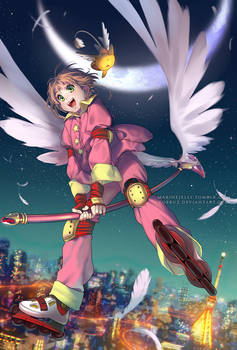 Sakura and the Mysterious Magic Book